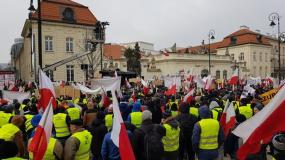 protest rolników, KRIR, strajk