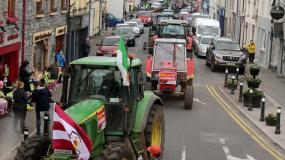 protest rolników, Irlandia, wspólna polityka rolna