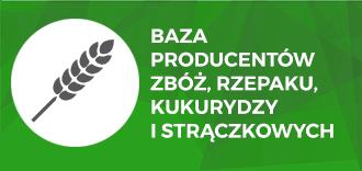 Baza producentów zbóż, rzepaku, kukurydzy i strączkowych